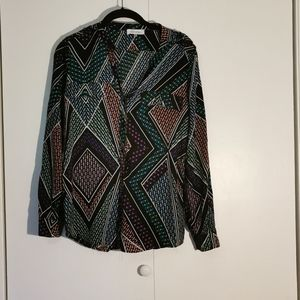 💋 2 for $22 - Calvin Klein blouse, size M